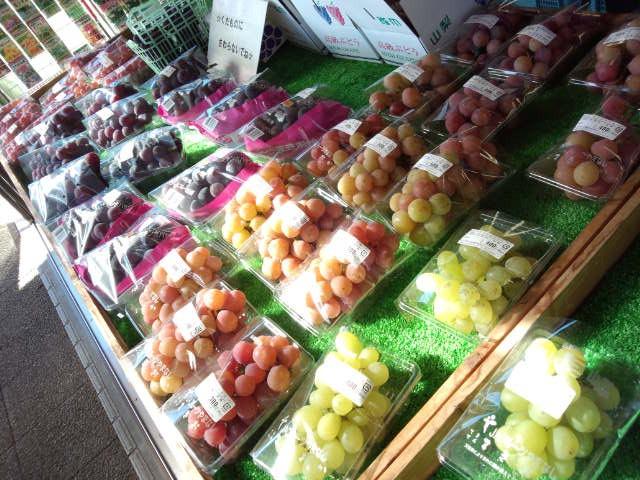 葡萄がいっぱい!