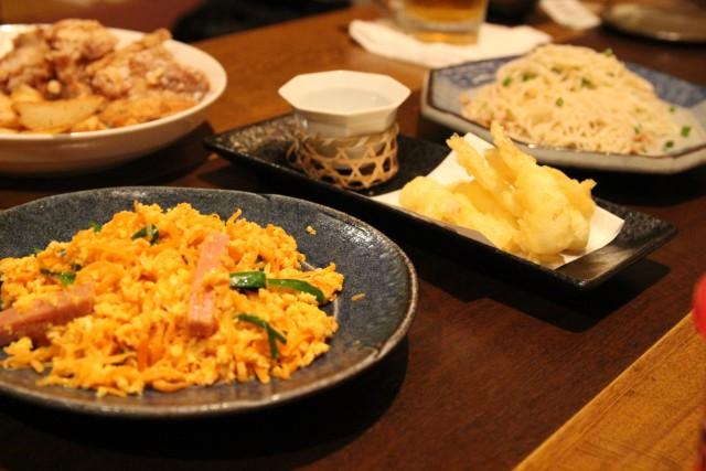 沖縄料理の数々
